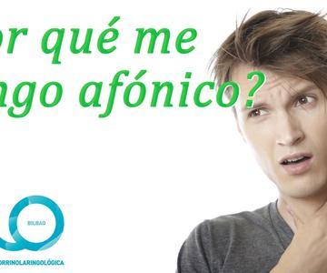 Afonía, tratamiento y solución para la voz | CIO Bilbao