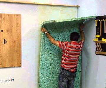 Aislar una pared con paneles encolados (Bricocrack)