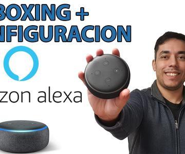 Altavoz Inteligente Echo Dot 3 Alexa - Unboxing y Puesta en Marcha
