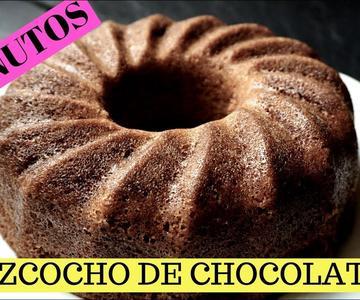 Bizcocho de chocolate al microondas en 5 minutos