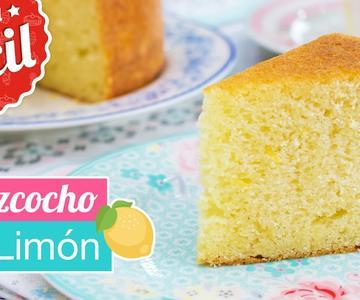 Bizcocho de limón CLÁSICO | Receta fácil | Quiero Cupcakes!