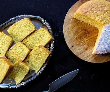 Bizcocho de Limón sin Yogur 🍋 (Esponjoso y muy ligero) 👉 Recetas Económicas de #beococina