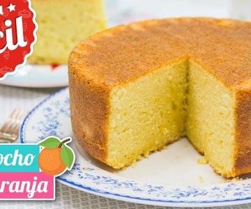 Bizcocho de Naranja DELICIOSO | Receta fácil | Quiero Cupcakes!