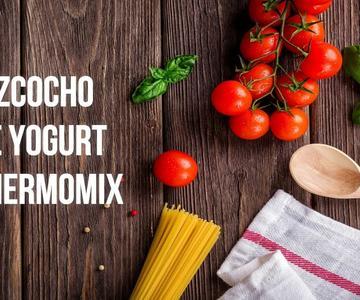 BIZCOCHO DE YOGURT THERMOMIX