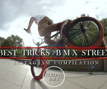 BMX - Best Tricks BMX Street compilation
