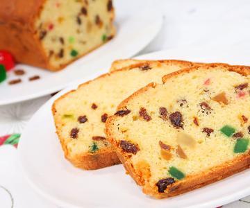 Budín Inglés | Plum Cake con Frutas súper fácil