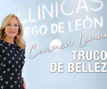 Carmen Lomana, ¿cuáles son sus trucos belleza? | Clínicas Diego de León