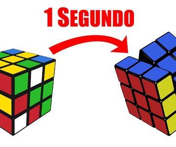 ¿CÓMO ARMAR un CUBO de RUBIK en 1 SEGUNDO?😱 | Speedcuber Perú