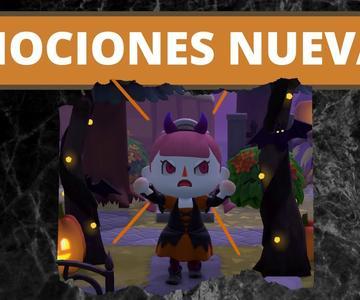 😨 Cómo CONSEGUIR las NUEVAS *REACCIONES / EMOCIONES* de Halloween en Animal Crossing New Horizons