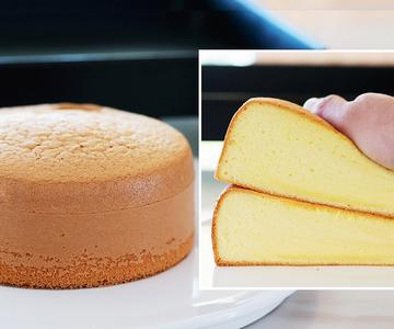Cómo hacer Bizcocho de vainilla / Receta de pastel esponjoso / Pastel fácil / Genoise