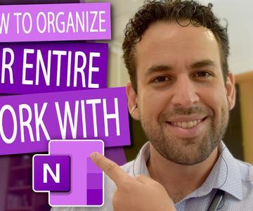 📝 Cómo organizar todo su trabajo con OneNote 📂