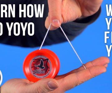 Cómo yoyo con su primer yoyo