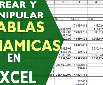 Crear tablas dinamicas excel 2013, 2016 y 2019 con ejemplo practico | Tutorial Excel