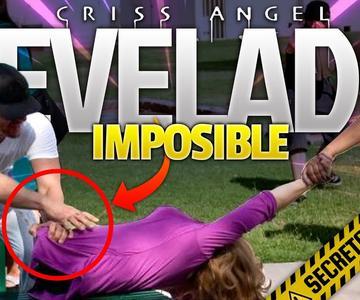 Criss Angel Divide CUERPOS en VIVO | TRUCO REVELADO