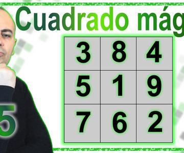 """💥\""""CUADRADO MÁGICO MATEMÁTICO\""""💥Casi Todo Suma 15 💥Matemáticas Mágicas💥Truco Matemático"""