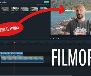Edita tus vídeos con FILMORA9 | Truco cambio de fondo