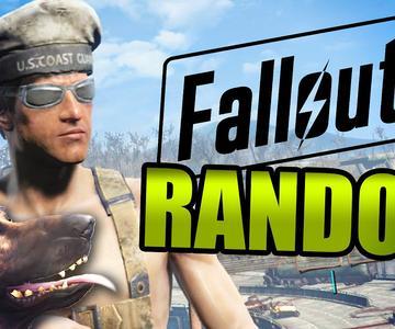 EL NIÑO CALVO Y LA TARTA | Fallout 4 RANDOM