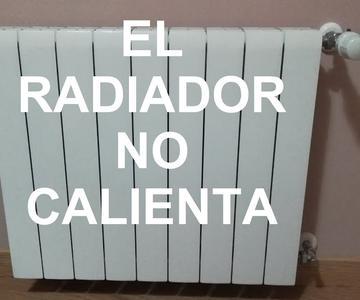 El radiador no calienta