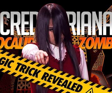 El SECRETO de SACRED RIANA REVELADO | Halloween Magic Trick in Asia's Got Talent
