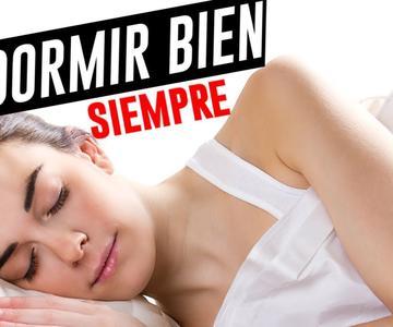 El secreto para dormir bien cada noche | ¡Despídete del insomnio!
