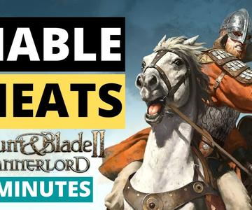 Enable Cheats in Mount \u0026 Blade 2 Bannerlord | UNLIMITED GOLD | 2 MINUTES