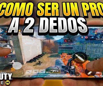 ESTE es EL MEJOR HUD PARA SER UN PRO PLAYER a 2 DEDOS EN Call of Duty mobile De NOOB A PRO PLAYER