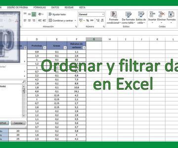 Excel - Ordenar y filtrar datos en Excel. Tutorial en español HD