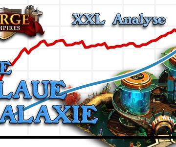 Forge of Empires -- La Galaxia azul -- Análisis y comparación de XXL -- [ESP sub]