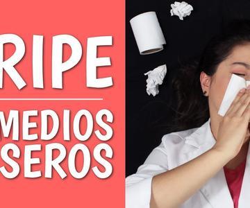 GRIPE: 13 Mejores Remedios Caseros y Medicamentos para el Resfriado, la Tos y el Dolor de Garganta