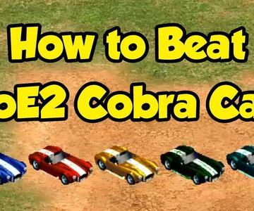 How to Beat AoE2 Cobra Cars