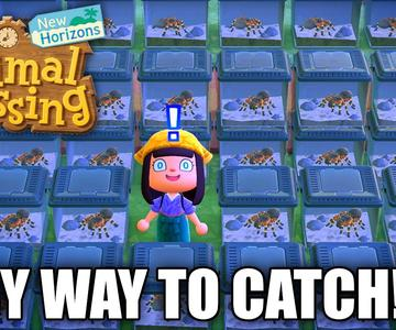 HOW TO Catch TARANTULA EASY in Animal Crossing New Horizons