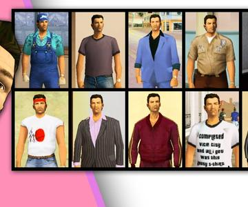How to get ALL SUITS in GTA VICE CITY?