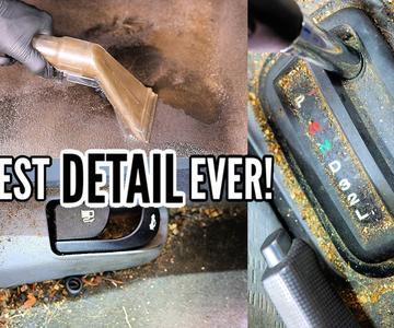 LIMPIEZA PROFUNDA ¡El coche más desagradable de todos los tiempos!