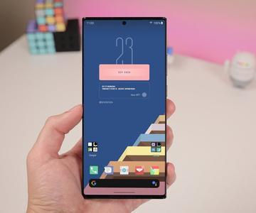 Personalizando el Galaxy Note 20 Ultra