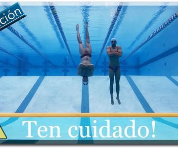 Respiración correcta para aguantar más tiempo bajo el agua