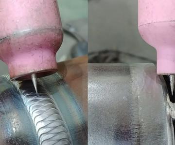 Soldadura Tig Caminando la soldadura de tubo de copa (65a sch80 acero al carbono tubería)