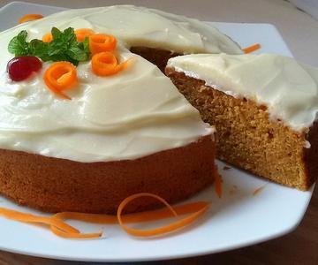 Tarta de zanahoria o Carrot Cake (receta muy fácil)