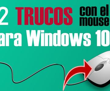 TODOS Los Trucos del Mouse que Deberías Dominar en Windows 10
