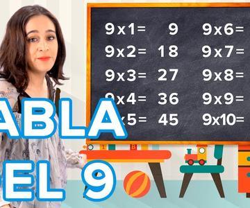Truco para aprender la tabla de multiplicar del 9 con las manos