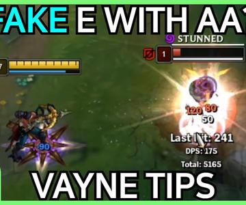 Vayne Tips / Tricks / Guides - How to Carry with Vayne
