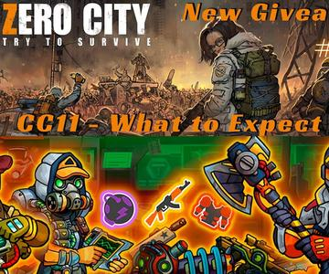 Zero City #63 - [GIVEAWAY] What to Expect With CC11